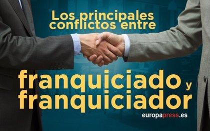 ¿Cuál es el origen de los conflictos entre franquiciador y franquiciado?