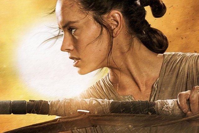 Rey en Star Wars