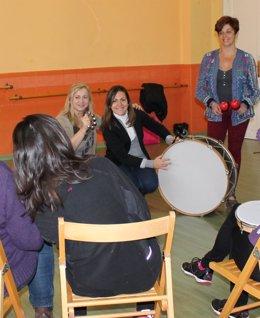 Musicoterapia para víctimas de violencia de género en León