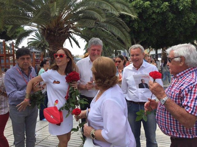 Campaña electoral de la coalición electoral PSOE-NC