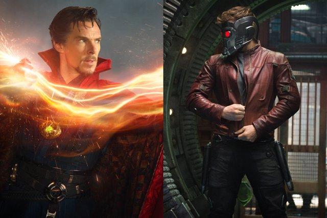 Doctor Extraño y Starlord