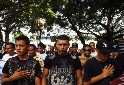 Al menos 20 detenidos en una operación contra las maras en la capital de Honduras