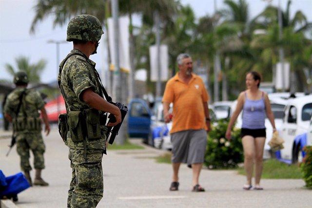 Puerto de Acapulco, Acapulco de Juárez, inseguridad, violencia, turismo, México