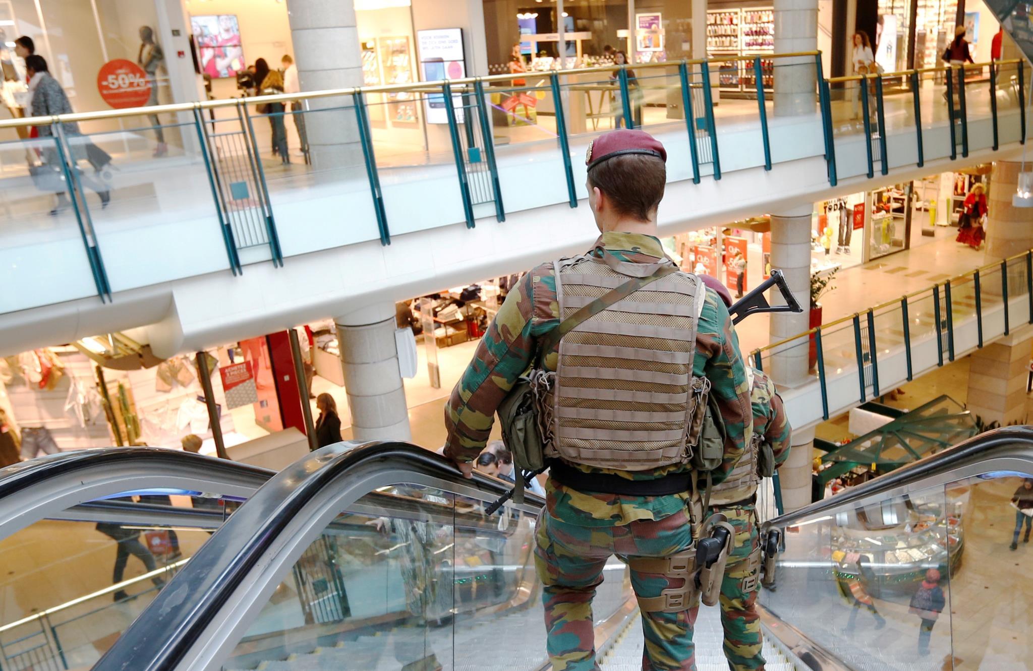 Operación policial en Bruselas