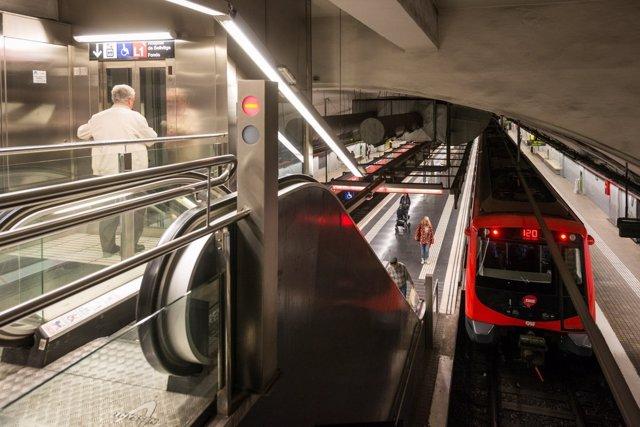Huelga en el Metro de Barcelona