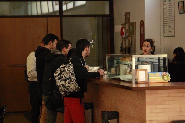 Universidad, Estudiantes, Estudios, Libros, Cafetería, Lorenzana