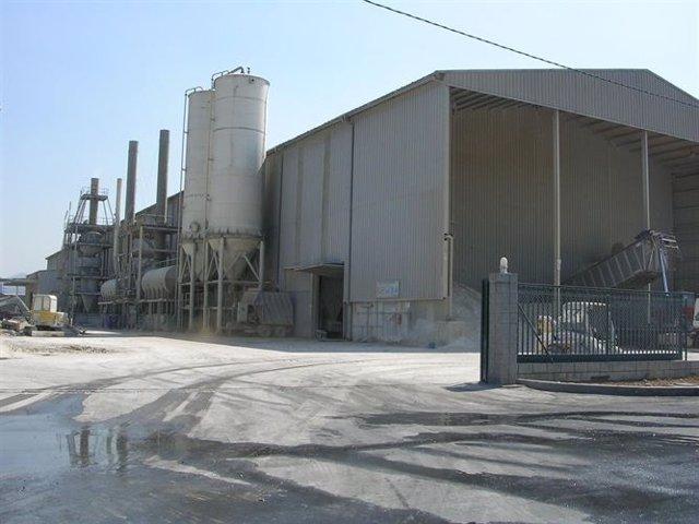 Una fábrica