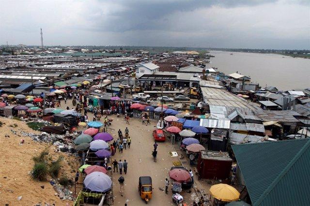 Delta del río Níger, Nigeria