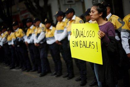 Las imágenes de las protestas por la educación en Oaxaca, México