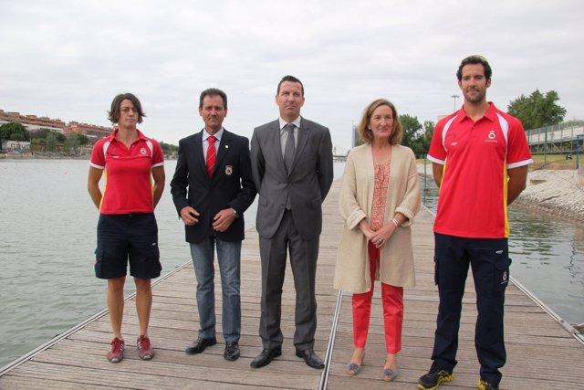 Nacho Rodríguez, Fernando Climent, Nuria Domínguez  y Noé Guzmán