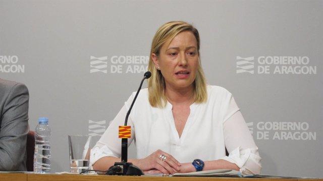 Consejera de Economía, Industria y Empleo de Aragón, Marta Gastón