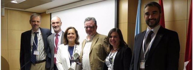 Acto de entrega del Premio a la Mejor Iniciativa de Experiencia de Paciente