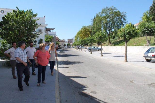 NOTA DE PRENSA: El Ayuntamiento De Gelves Recepciona Las Obras De La Plaza Del R