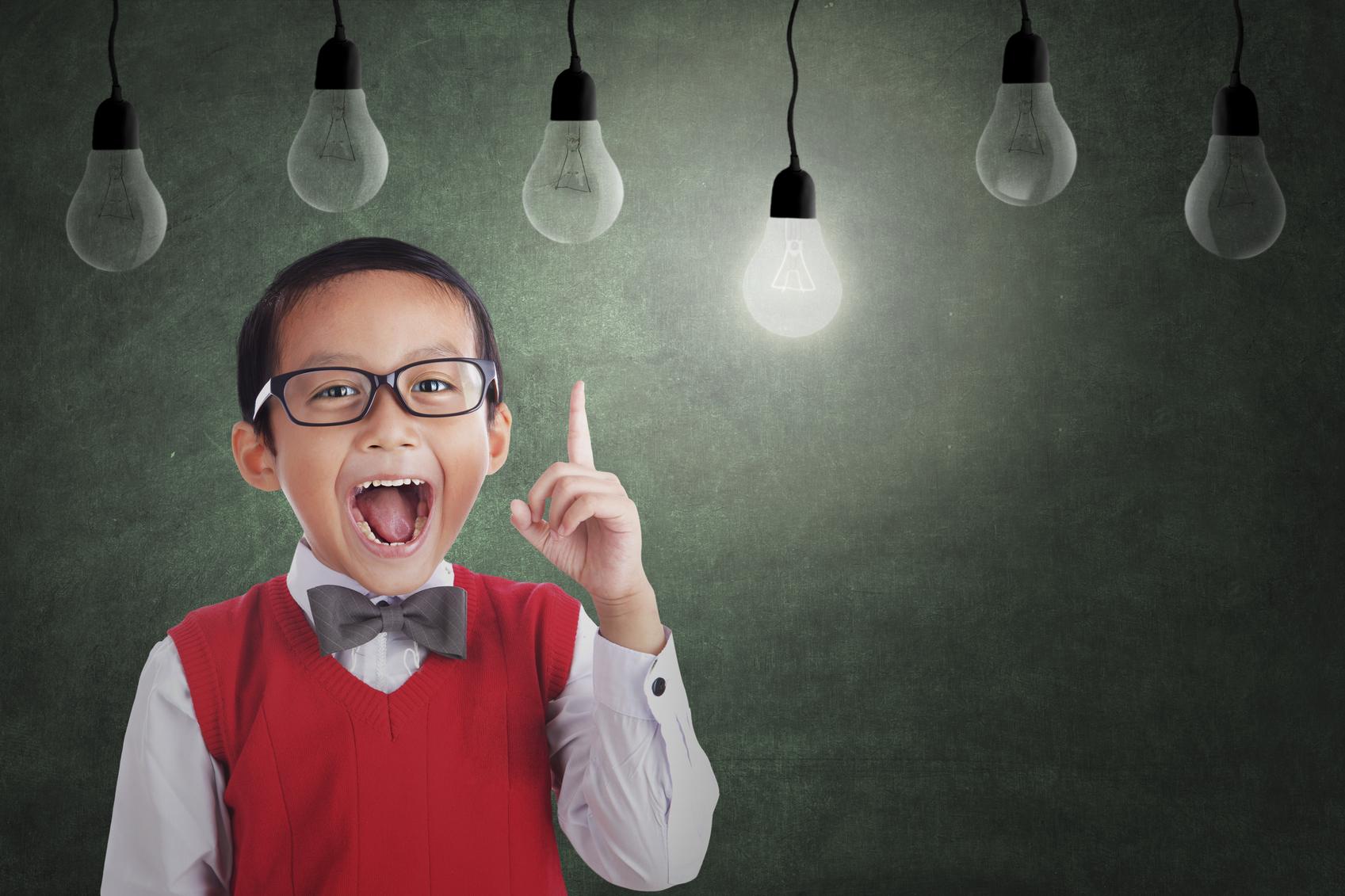 ¿Qué hace a un niño inteligente?