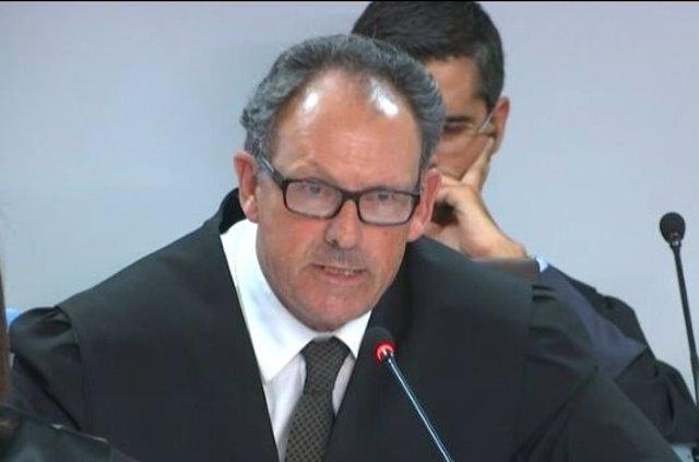 Mario Pascual Vives, en la exposición de su informe del caso Nóos