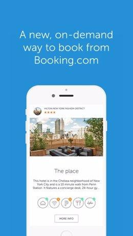 Booking Now, 'app' de reservas hoteleras