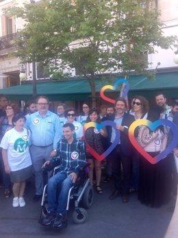 Ahora Madrid apoya la candidatura de Unidos Podemos