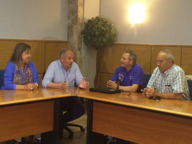 Candidatos del PP se reúnen con AMA