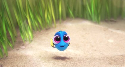 VÍDEO: Baby Dory, el personaje más adorable de Buscando a Dory