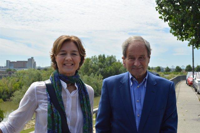 Isabel García Tejerina y José Ignacio Llorens