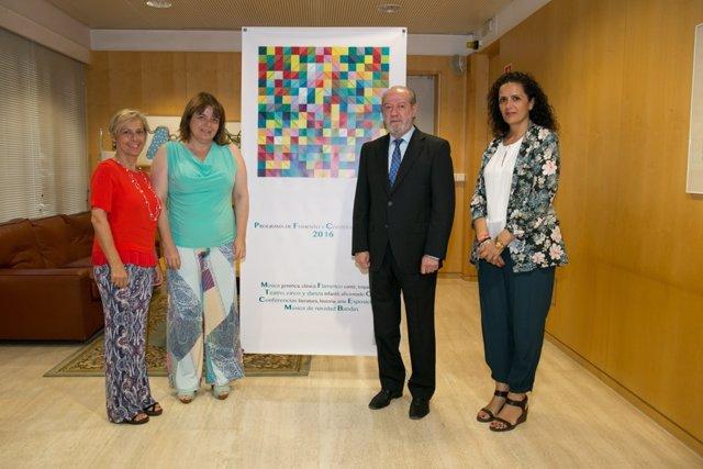 Presentación del Programa de Fomento y Cooperación Cultural