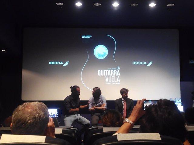 Presentación documental 'La guitarra vuela. Soñando a Paco de Lucía'