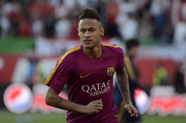 Neymar en la final de la Copa del Rey 2016