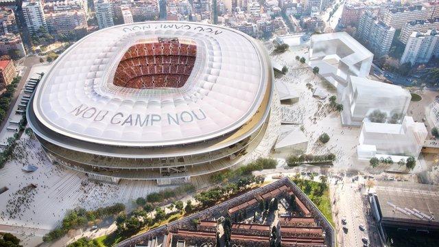 Proyecto del nuevo Camp Nou