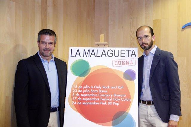 Víctor Manuel González y Juan Carlos Estrada