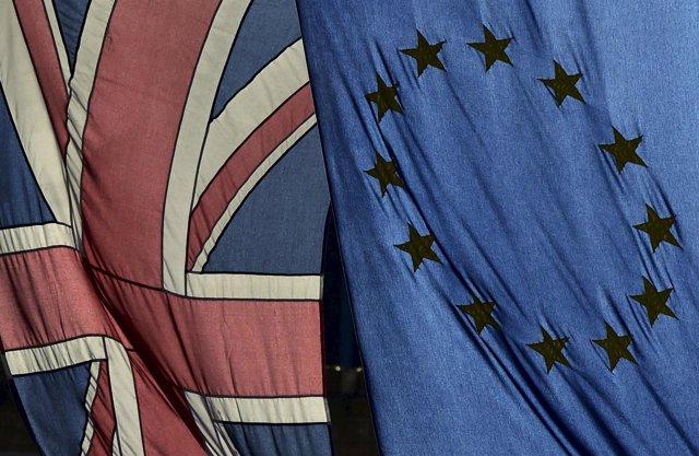 Brexit, banderas