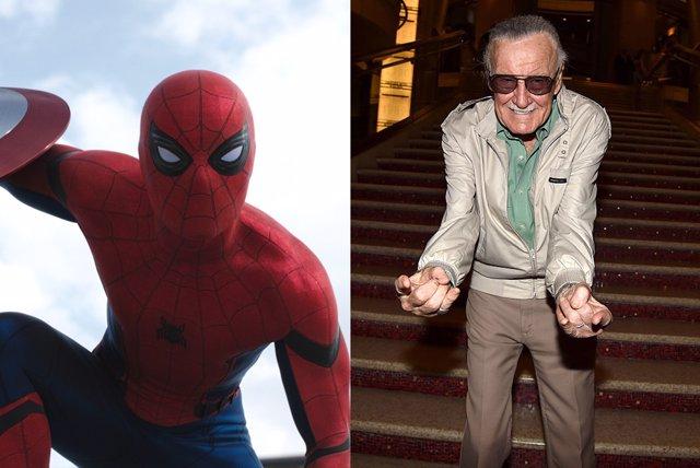Spiderman y Stan Lee