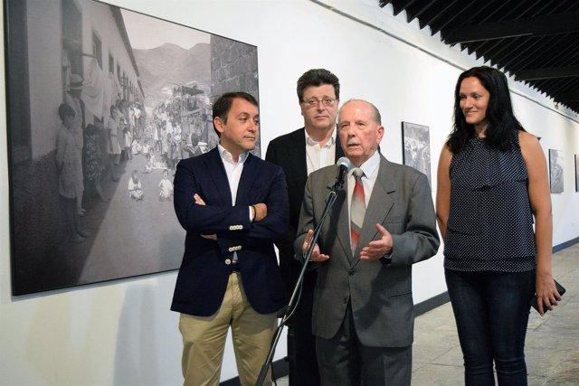 Inauguración de la exposición de Trino Garriga