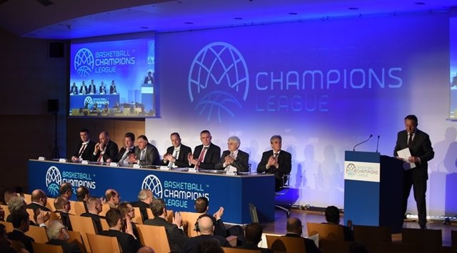 Lanzamiento de 'Basketball Champions League'