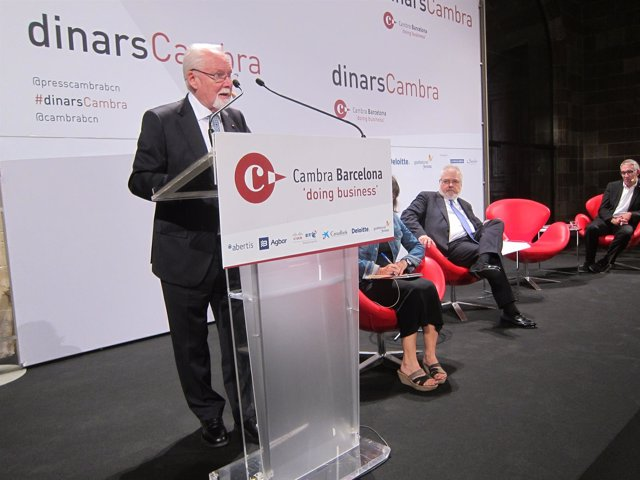 El presidente de Creu Roja en Catalunya, Antoni Aguilera