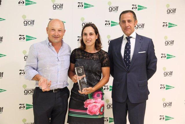 Ganadores del XXII Torneo El Corte Inglés de golf