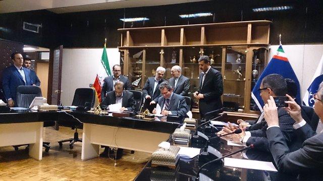 Acuerdo entre Grupo PSA e Iran Khodro