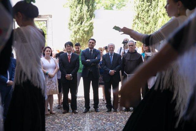 Acto inaugural del año 'Espartinas, nexo de unión entre Oriente y Occidente'.