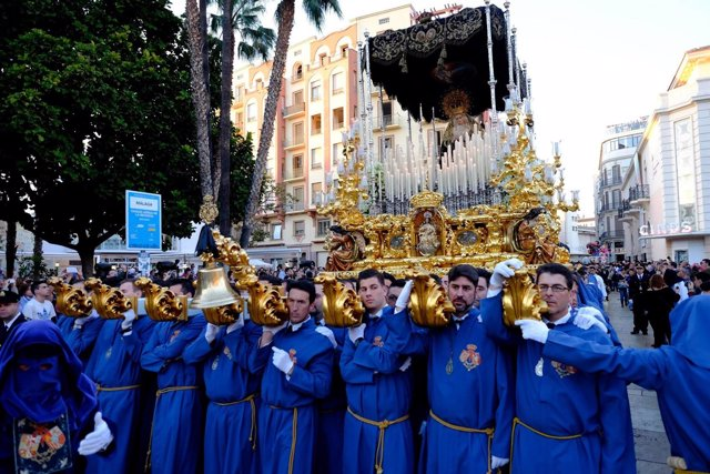 Málaga, Semana Santa 2015.