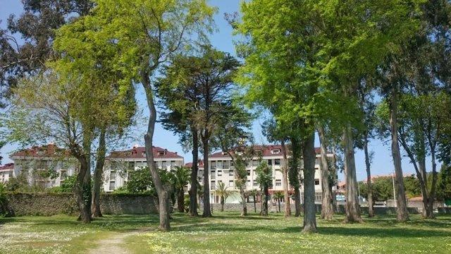 Parque Marqués de Velasco en Noja