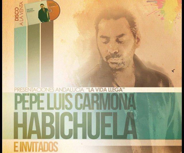 Pepe Luis Carmona Habichuela presenta 'La vida llega'