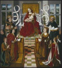 """UAM. La Célebre Tabla """"Virgen De Los Reyes Católicos"""" Del Prado"""