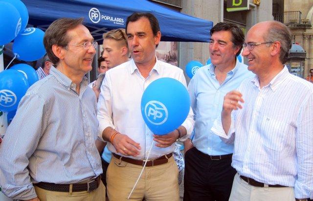 El vicesecretario de Organización del PP, Fernando Martínez Maíllo, en un acto