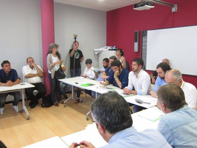 Reunión del sector del mar con partidos en Santiago