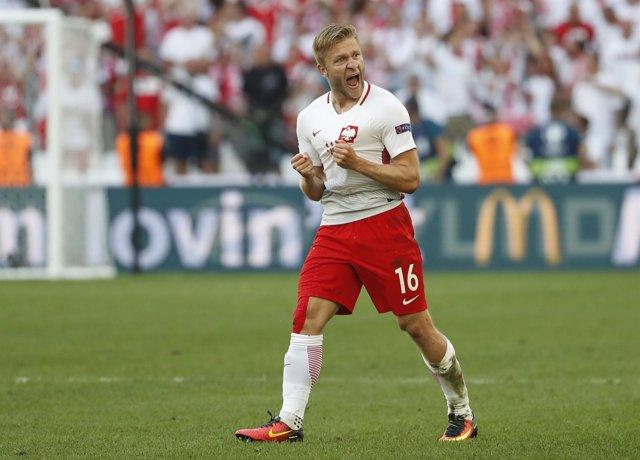 El jugador polaco Jakub Blaszczykowski