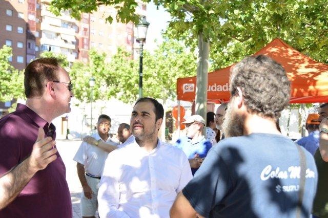 El candidato de C's por Zaragoza, Rodrigo Gómez