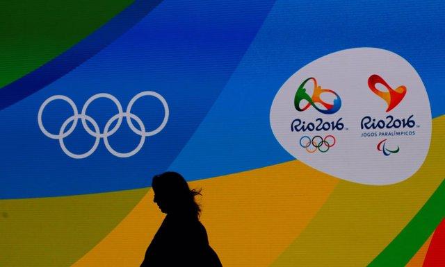 Ceremonia de presentación de medallas en Río de Janeiro