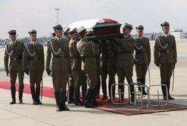 Polonia exhumará los cuerpos de las víctimas del accidente del avión presidencial de 2010