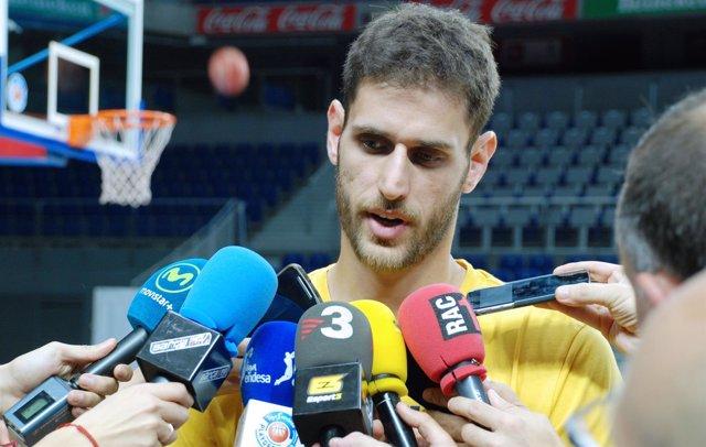 El jugador del FC Barcelona Lassa Stratos Perperoglou