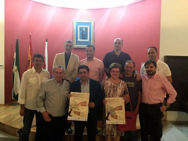 Presentación en Andújar del Meeting Internacional 'Jaén Paraíso Internacional'