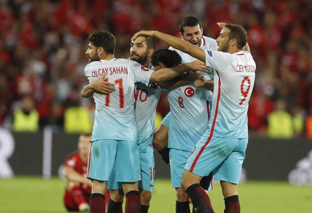 La selección de Turquía en la Eurocopa de Francia